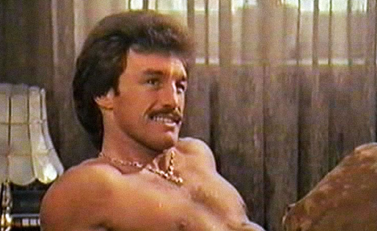 René Weller in Macho Man - Harte Fäuste (1985). Quelle: DVD Screenshot
