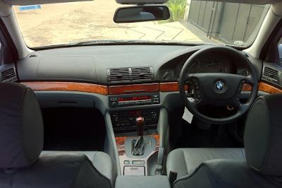 Interior BMW E39 Facelift