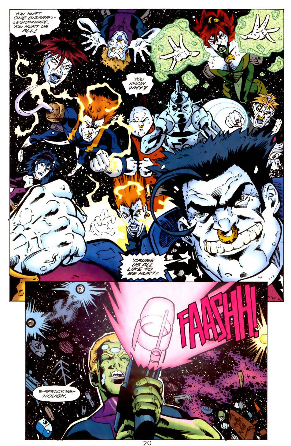 Legion of Super-Heroes (1989) 115 Page 19