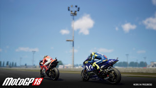 Moto GP 18 PS4 Wallpaper