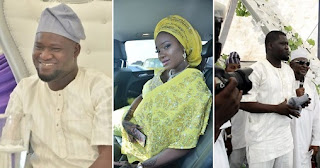 founder of Naijaloaded, Maklinde Azeez weds long time girl friend