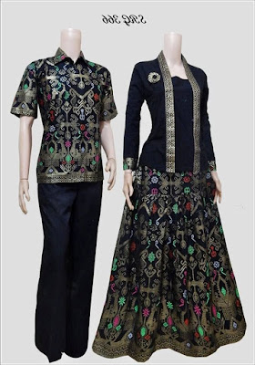 Busana Batik Couple Blouse Modern