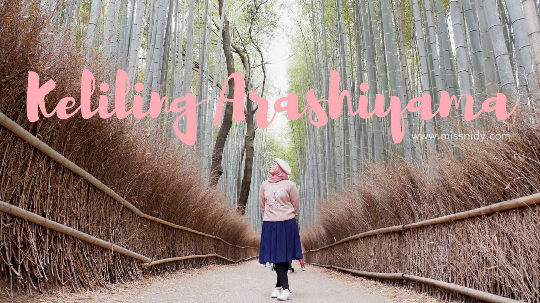 keliling arashiyama jepang