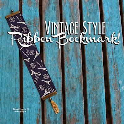 http://www.doodlecraftblog.com/2015/05/vintage-style-gold-tassel-ribbon.html