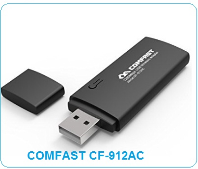 COMFAST CF-912AC (AC1200) Wireless DRIVER | Direct Download Link