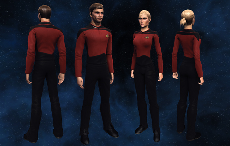 The Trek Collective: See Worf to wear virtual spandex