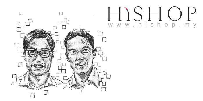 HiShop founders - Shaun & Wilson