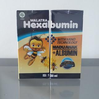 Walatra Hexabumin Madu Anak + Albumin