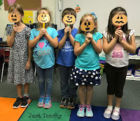 Five Little Pumpkins Story Retelling, acting