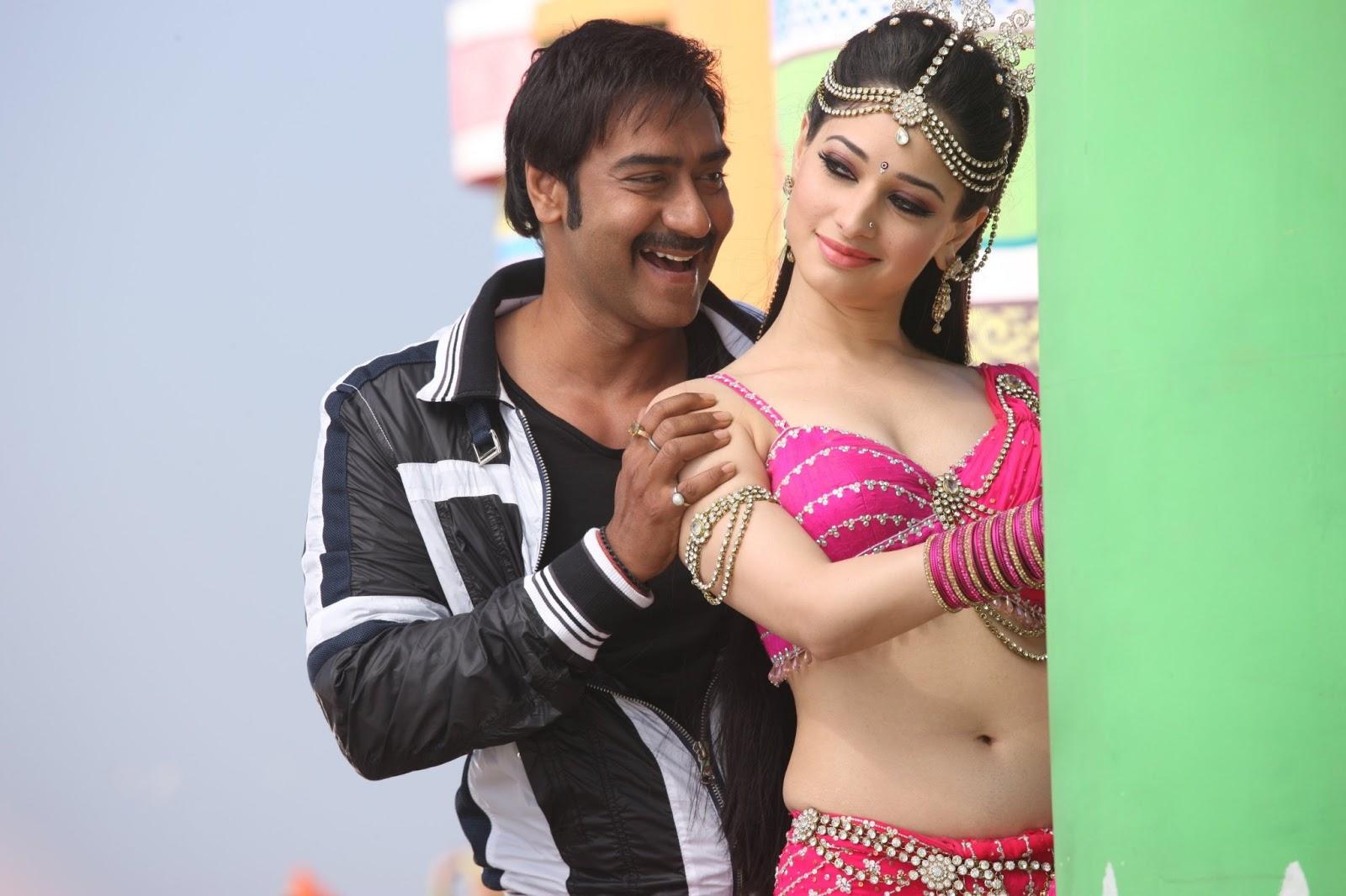 In Saree Tamanna In Himmatwala: Tamanna Himmatwala Movie Hot Stills