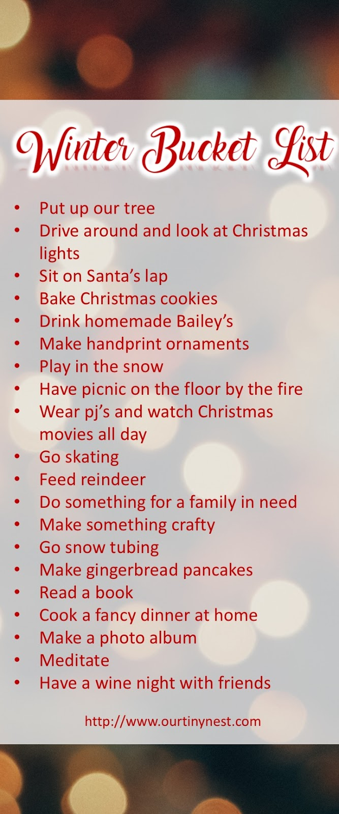 what are some things on your winter bucket list this year