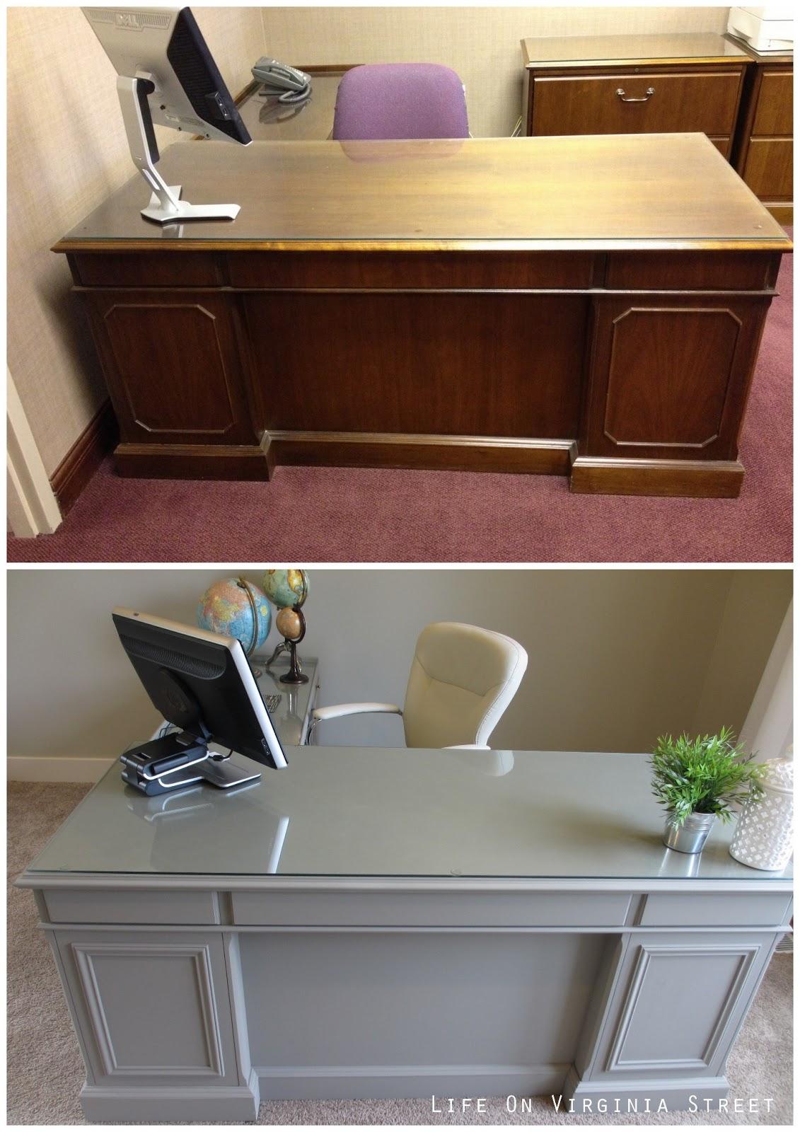 Desk Office: Office Desk Makeover: Complete!