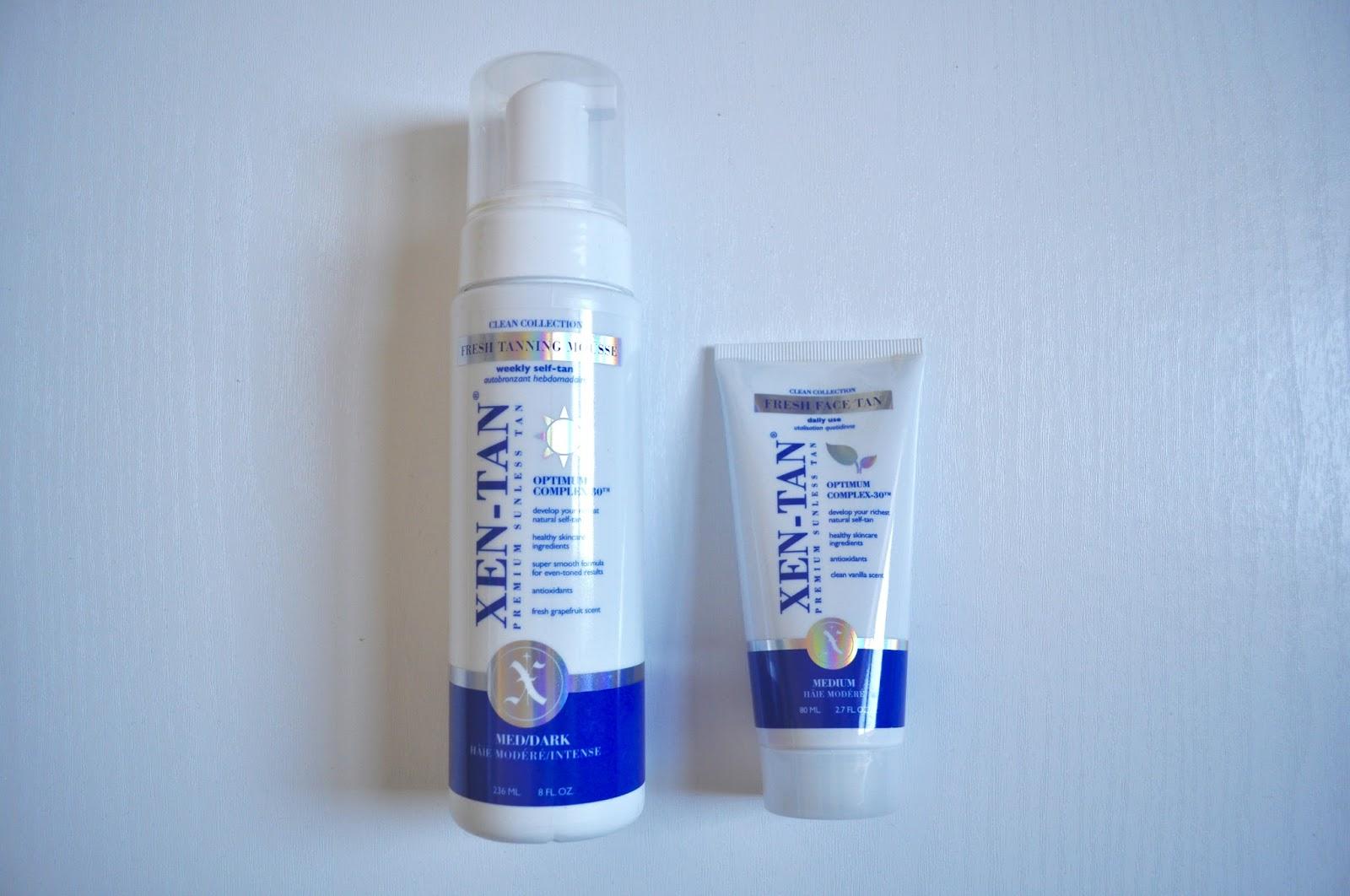 xen tan fresh tanning mousse fake tan