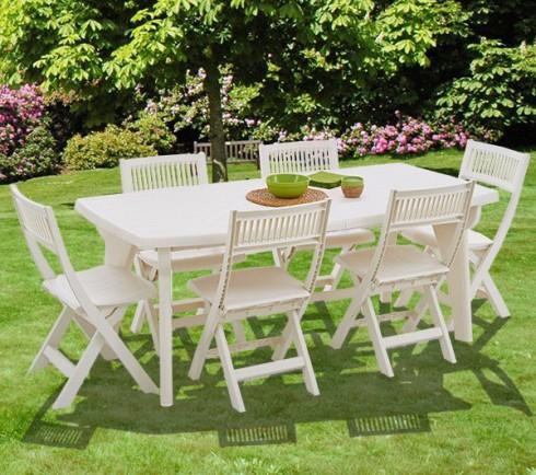 5 astuces diy pour nettoyer vos chaises de jardin en plastique le blog d co top. Black Bedroom Furniture Sets. Home Design Ideas