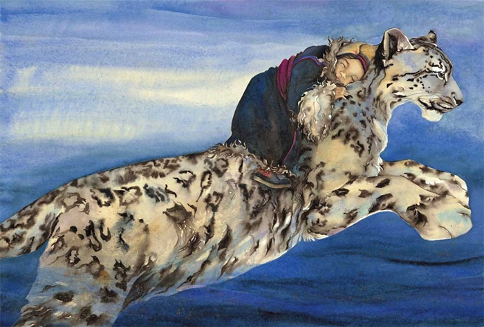 Jackie Morris 1961 | British Watercolour painter and Book Illustrator