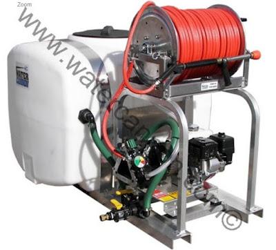 14C12 Pressure Washer Tank