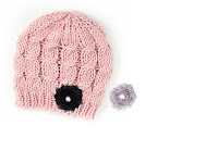 Knit-Cable-Beanie-Soft-Pink