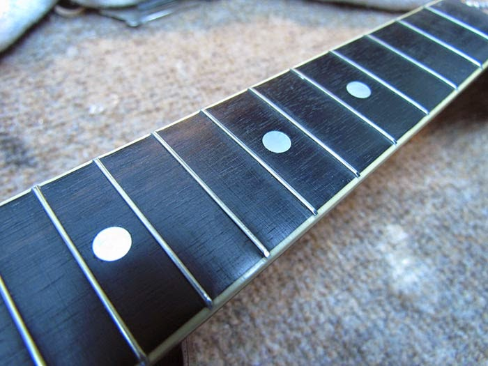 fingerboard cleaning fret dressing and tuner lubrication on the 1919 gibson a 4 mandolin. Black Bedroom Furniture Sets. Home Design Ideas