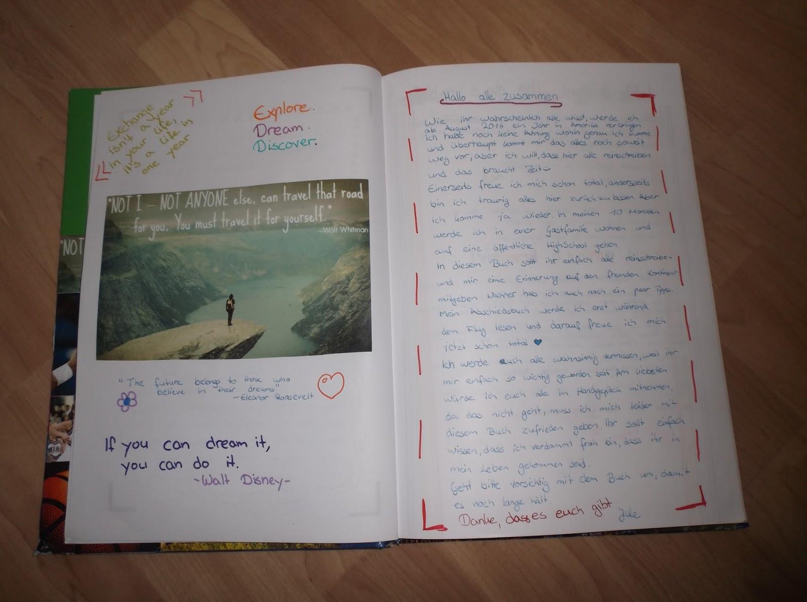 träume wollen fliegen~: #15 abschiedsbuch