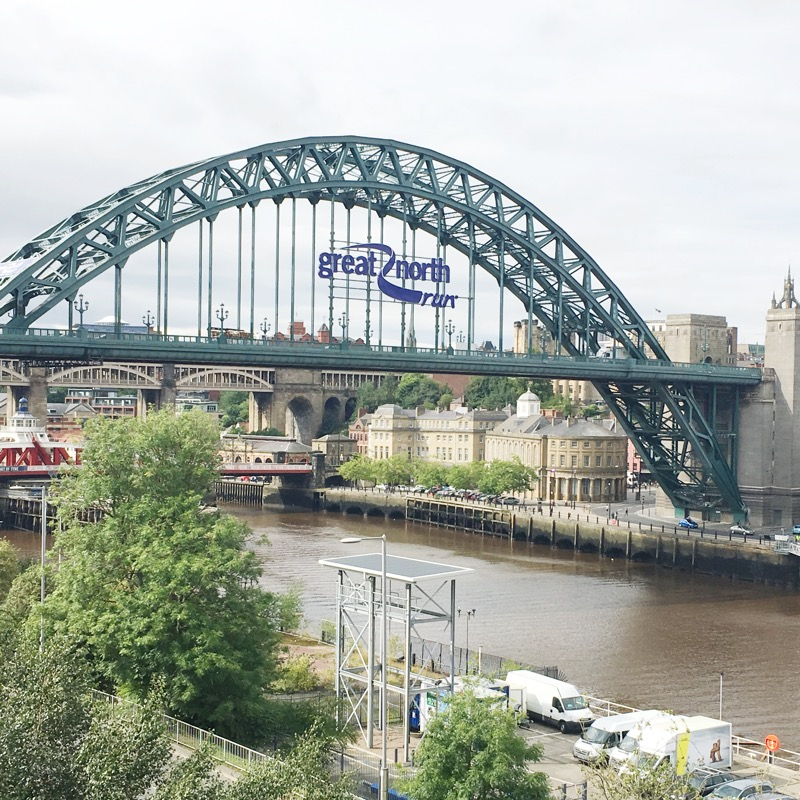 Great North Run - Tyne Bridge