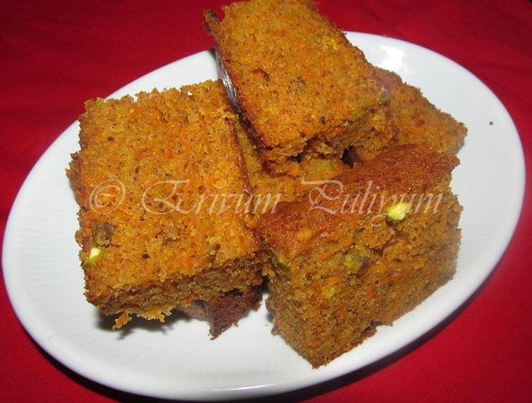 Bean Cake Recipe Joy Of Baking: Erivum Puliyum: Carrot Cake