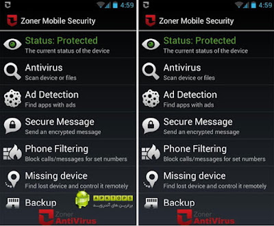 Applikasi Anti Virus Zooner Security apk Terbaru Gratis