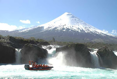 Boat excursion to Petrohue River Waterfalls
