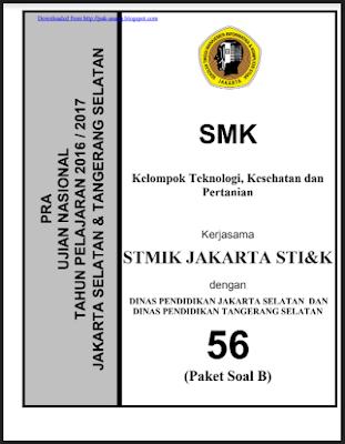 Soal UN SMK TKP 2017/2018