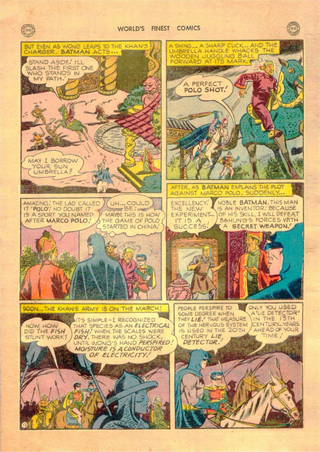 Read online World's Finest Comics comic -  Issue #42 - 73