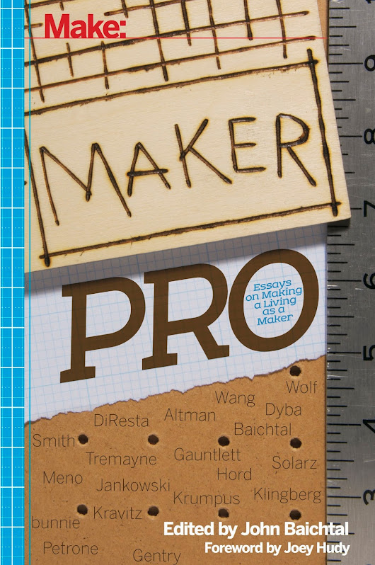 Maker Pro is Off to Print