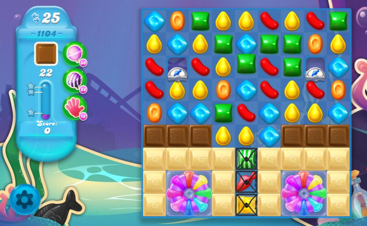 Candy Crush Soda Saga level 1104