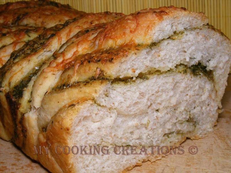 Хляб с песто дженовезе * Pane al pesto genovese