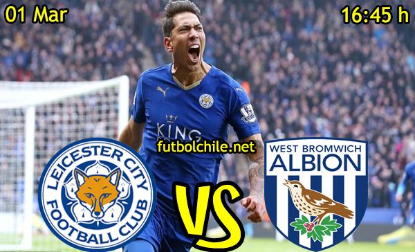 VER STREAM EN VIVO, ONLINE: Leicester City vs West Bromwich Albion
