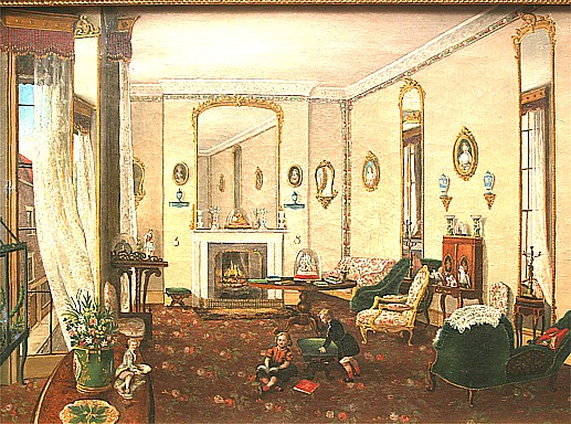Art Now and Then: Victorian Interiors