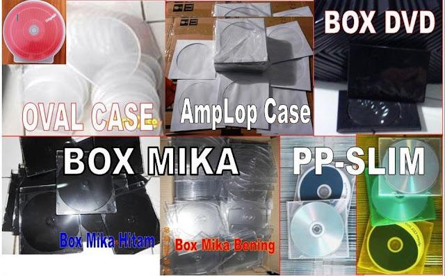 jasa burning pemilihan case cd/dvd