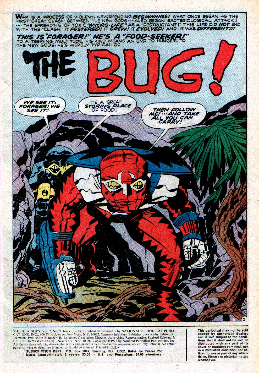 The New Gods (1971) issue 9 - Page 3