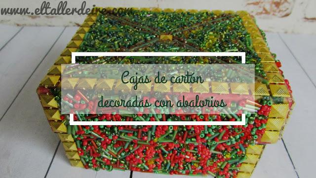 http://www.eltallerdeire.com/2016/04/cajas-de-carton-decoradas-con-abalorios.html