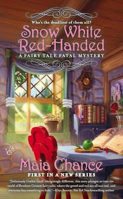 Interview with Maia Chance and Review of Snow White Red-Handed - November 7, 2014