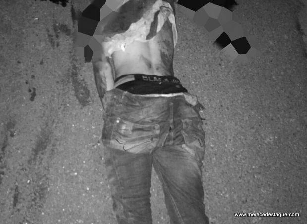 Acusado de praticar assaltos morre atropelado na PE-90, no município de Vertentes