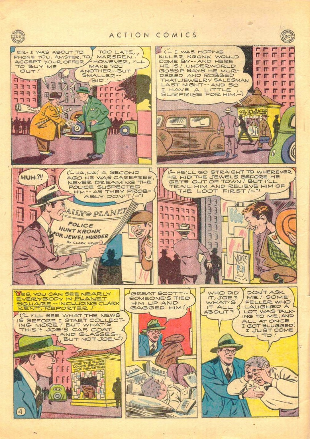 Read online Action Comics (1938) comic -  Issue #77 - 5