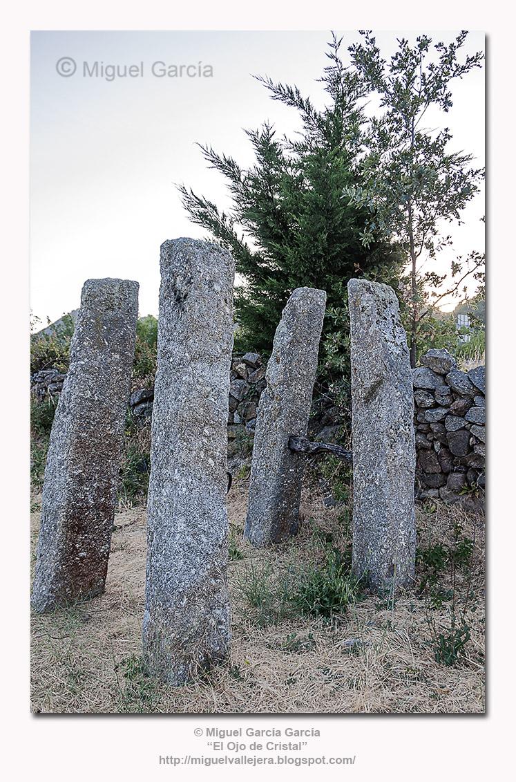 ¿Stonehenge?. No; potro de herrar en Vallejera de Riofrío (Salamanca).