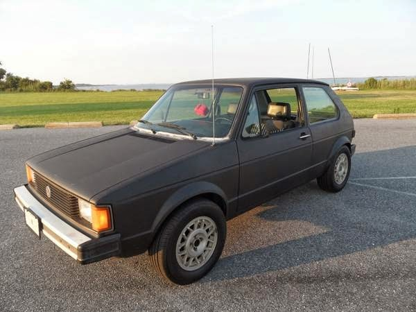 classic volkswagen rabbit. Black Bedroom Furniture Sets. Home Design Ideas