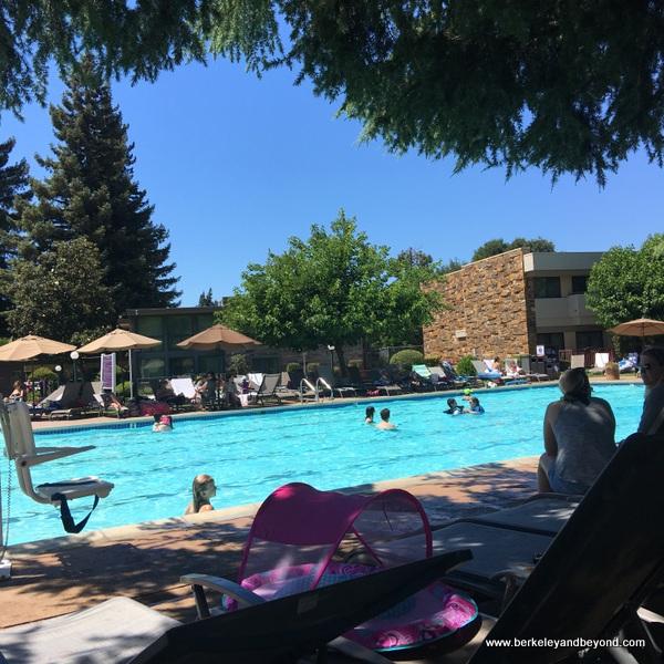 outdoor pool at Flamingo Conference Resort & Spa in Santa Rosa, California