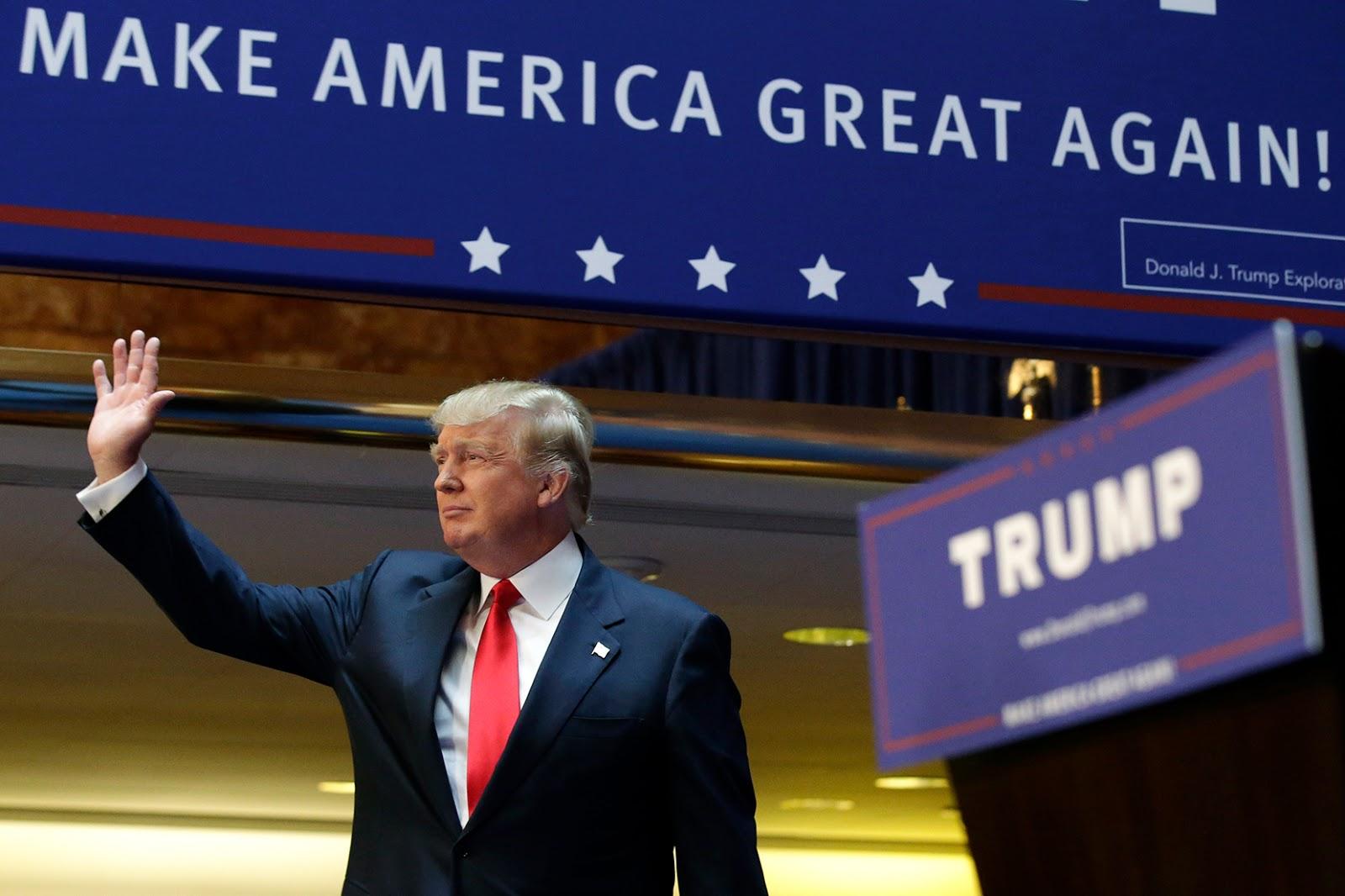 Inilah Biografi Donald Trump President As Ke 45: Profil Dan Biografi Donald Trump, Presiden Amerika Serikat