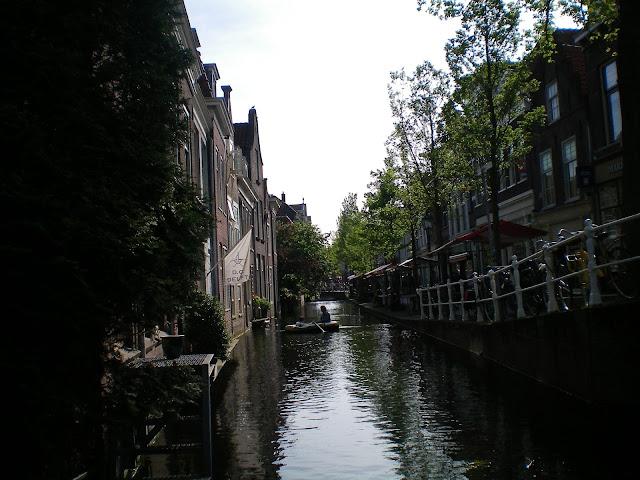 Canales de Delft en Holanda