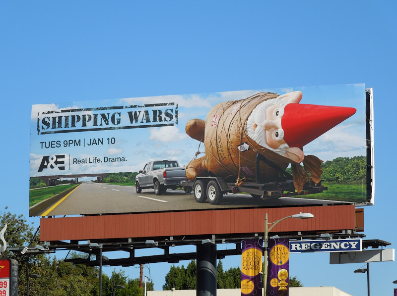 Shipping Wars TV billboard