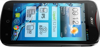 Acer Liquid E2 harga dan spesifikasi, Acer Liquid E2 price and specs, images-pictures tech specs of Acer Liquid E2