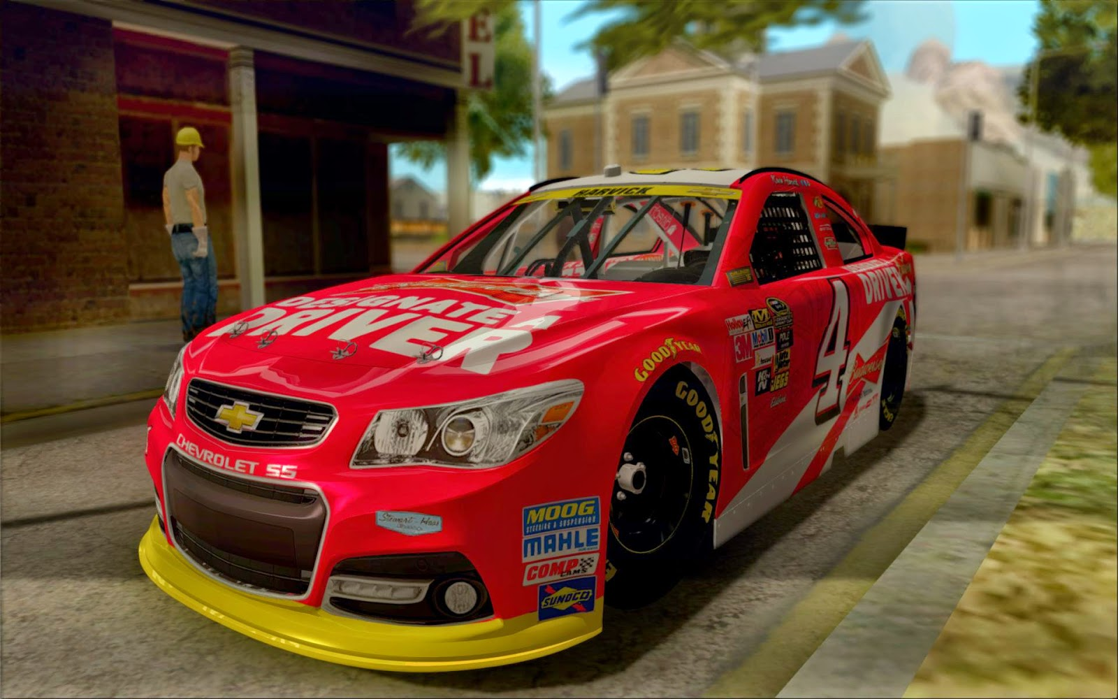 Grand Theft Auto San Andreas Nascar Chase Paint Schemes