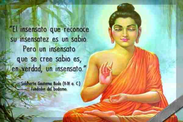 Redlxiones budista en palabras