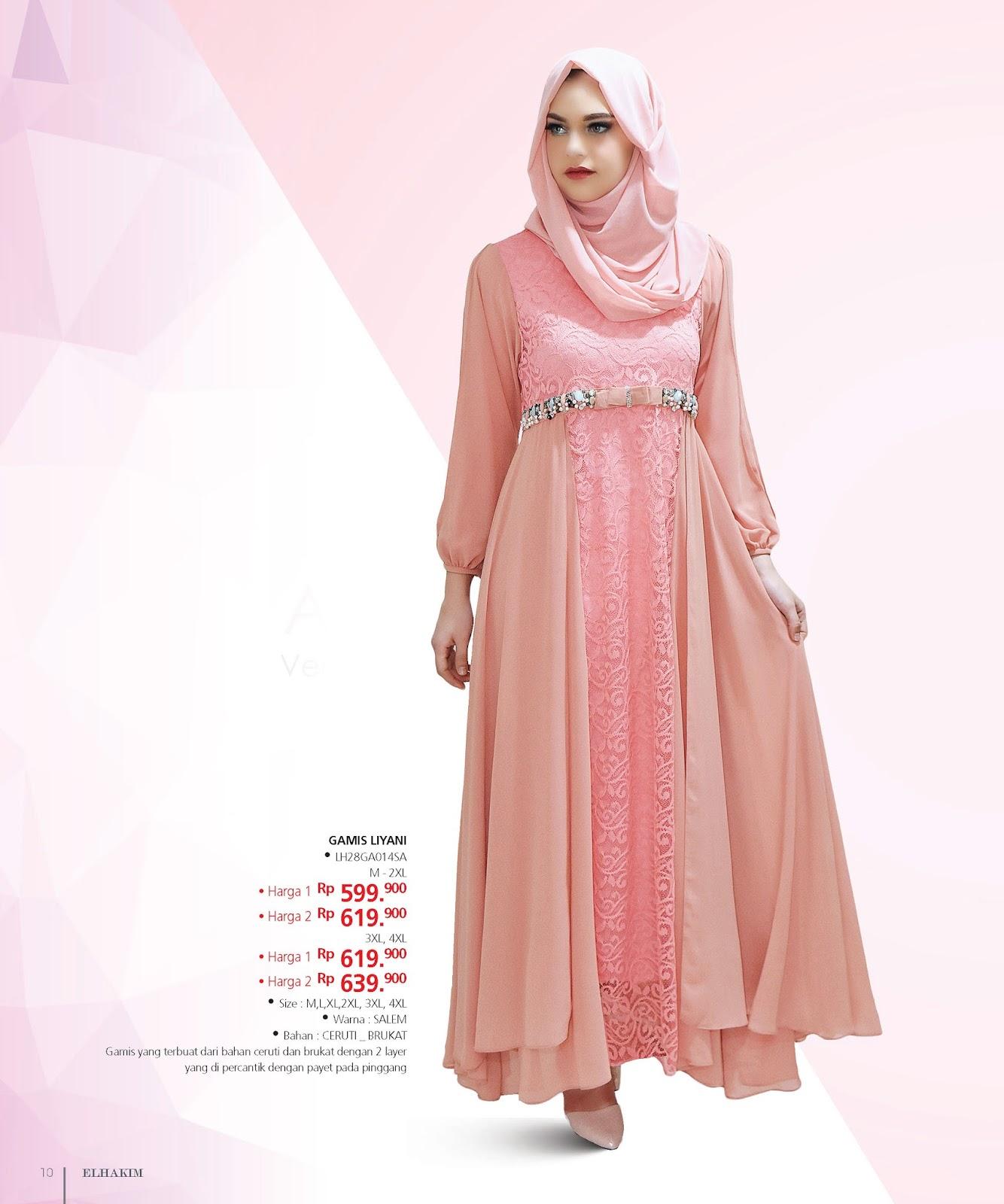 Baju Muslim Ibu Ibu Murah Busana Baju Muslim Wanita 0813
